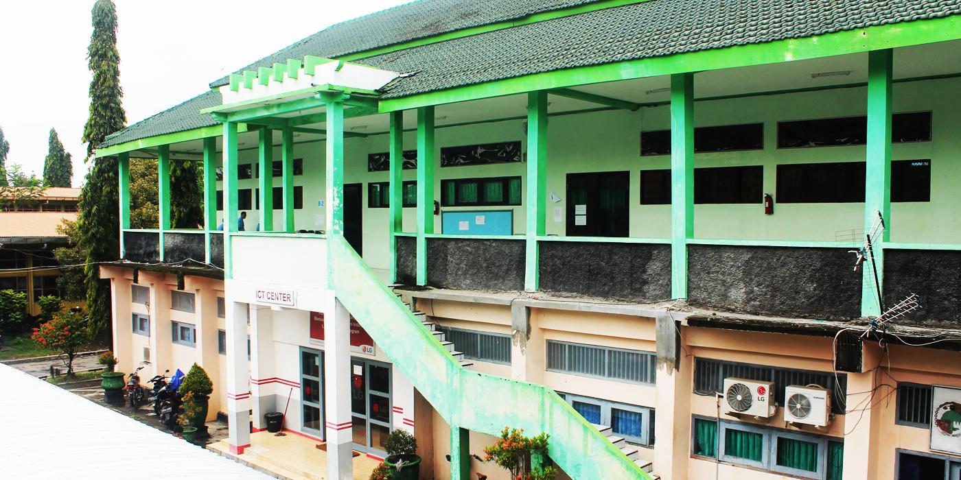 Gedung ICT SMKN 1 Kediri